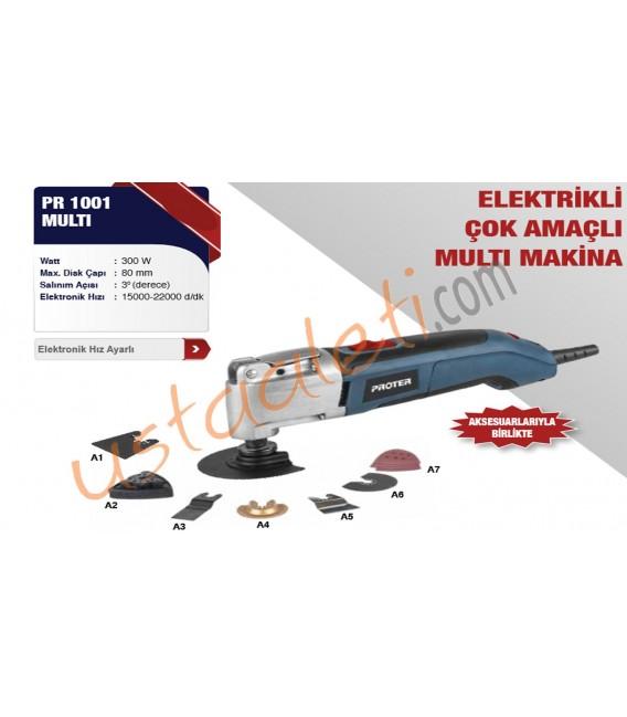 Proter PST 1001 MULTİ Çok Amaçlı Multi Makine