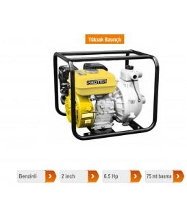 Proter PGS 220 HP  2'' Benzinli Motopomp Yüksek Basınçlı