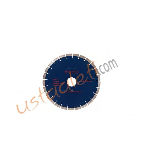 İnterflex 350 mm. Sessiz Granit Kesici Sulu Kesim Blue Line
