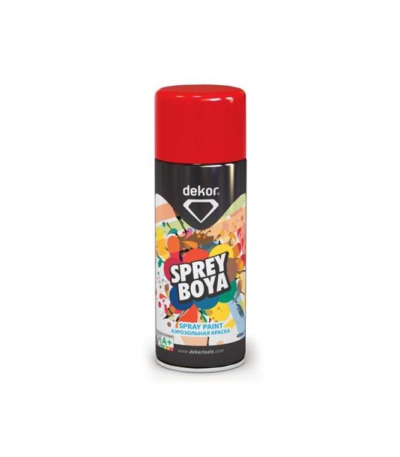 Dekor Sprey Boya Kırmızı 648 RAL 3002 (400 ml.)
