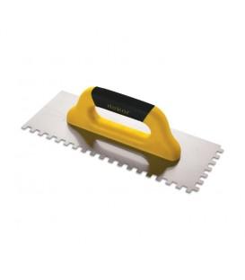 Dekor Plastik Saplı Seramik Malası 40cm. 10x10 Kare Diş