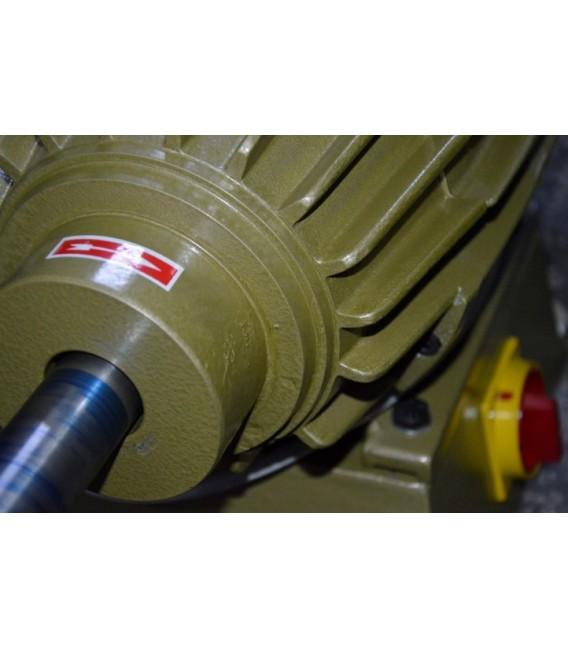 Lider 5.5 Hp Trifaze Polisaj Motoru 380V Çift Devir