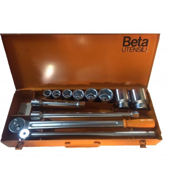 Beta 3/4 İnç Ağır Lokma Takımı 12 Parça ( Made İn İtaly)