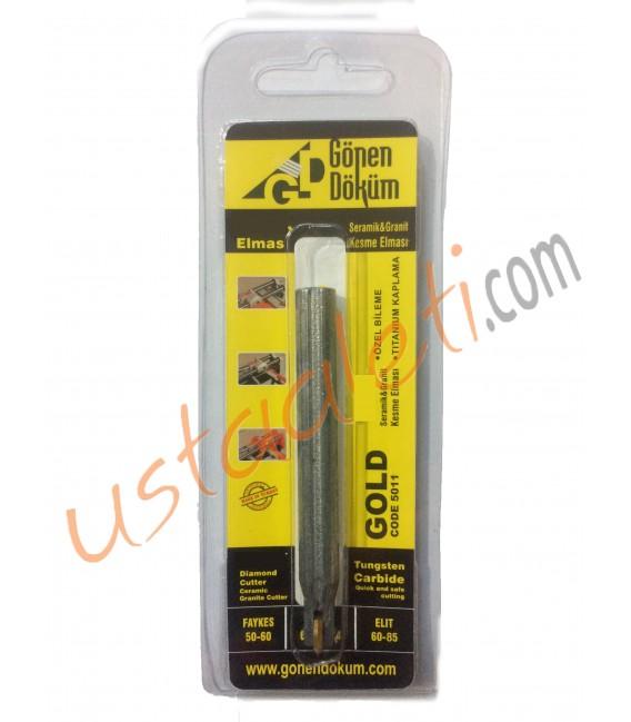 Gönen Döküm 8 mm. Gold Elmas Bıçak
