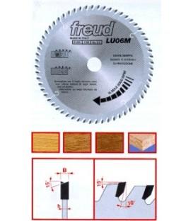 Freud LU06M 250mm. Z60 Laminat Testeresi