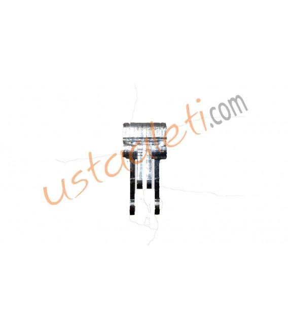 Kristal Süper Leto-Safir Model BBıçak Tutucu Gövde