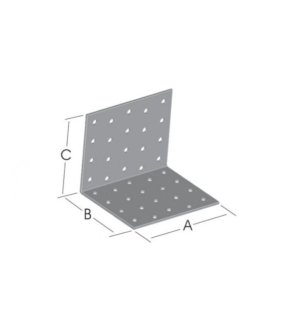 100 mm. Köşebent 90°  100x60x60 mm. 50 Adet