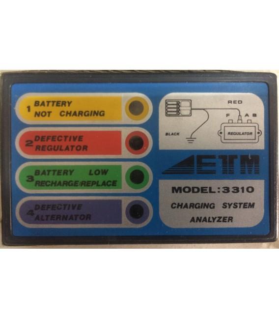 ETM 3310 Şarj Sistemi Kontrol Cihazı