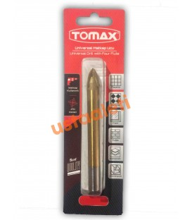 Tomax 8 mm. Gold Seri Çok Amaçlı Seramik, Mermer, Cam,Ahşap Delici