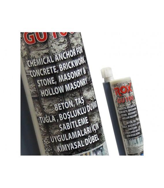ROX GU100 Epoksi Kimyasal Kartuş 345 ml