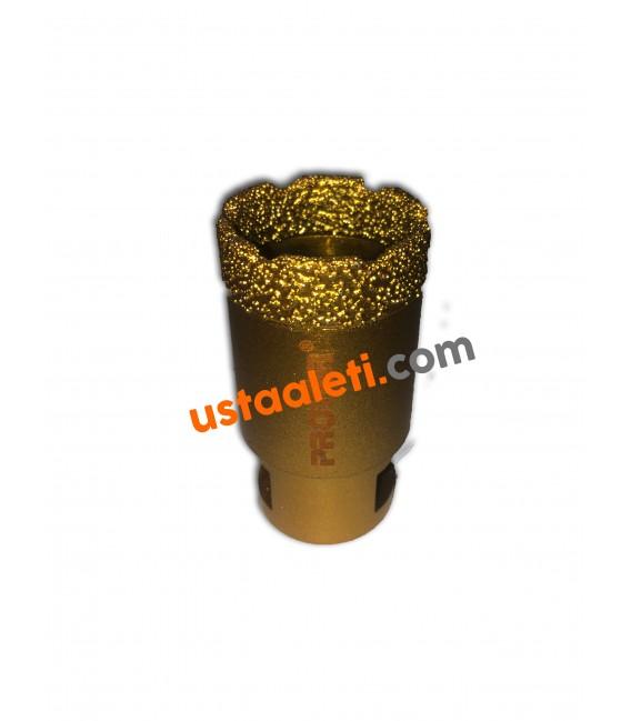 Proter 32 mm. M14 Gold Seramik, Porselen, Granit, Mermer Delici