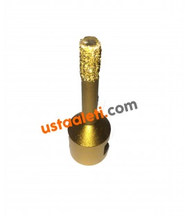 12 mm M14 Gold Seramik Porselen Mermer Granit Panç