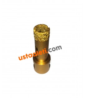 16 mm M14 Gold Seramik Porselen Mermer Granit Panç
