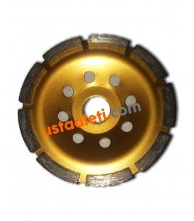 Dandoo 115 mm. Tek Sıra Beton Yüzey Silim Elmas Çanak Taşı