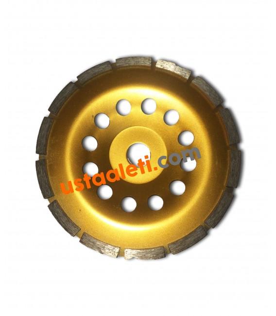 Dandoo 115 mm. Turbo Elmaslı Beton Yüzey Silim Elmas Çanak Taşı