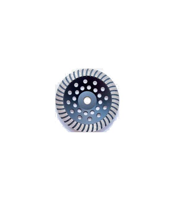 Dandoo 180 mm. Turbo Elmaslı Beton Yüzey Silim Elmas Çanak Taşı