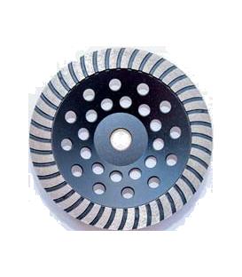 Gerlinger 180 mm. Turbo Elmaslı Beton Yüzey Silim Elmas Çanak Taşı