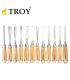 Troy Ahşap Oyma Bıçak Seti Profesyonel 25004 (Iskarpale Takımı)