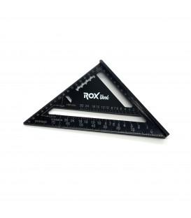 Rox Wood 0023 Alüminyum Üçgen Marangoz Gönye 175 mm