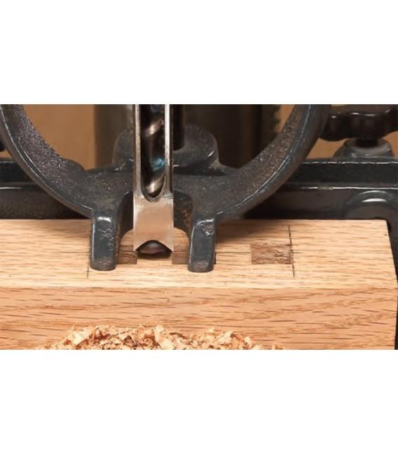 Rox Wood 0038 Sütunlu Matkaba Takılır Zıvana Kare Delik Açma Seti