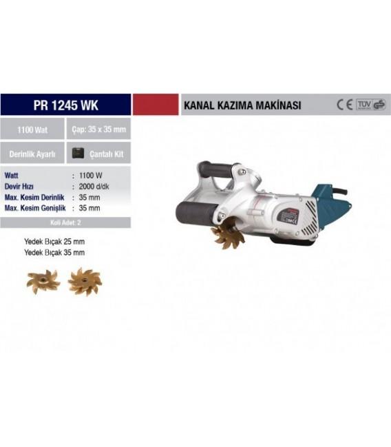 Proter PR 1245 WK Kanal Kazıma Makinesi