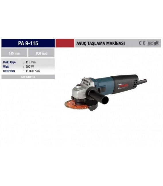 Proter PA 9-115 Avuç Taşlama Makinesi