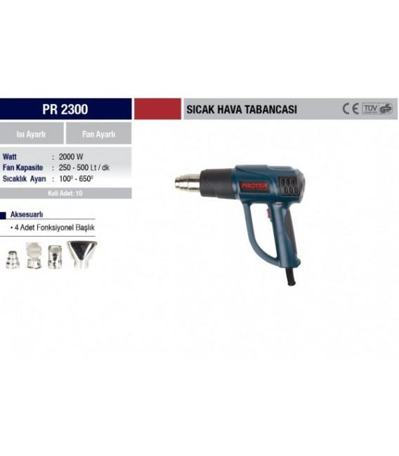 Proter PR 2300 Sıcak Hava Tabancası