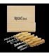 ROX Wood Ahşap Oyma Iskarpela Seti 6 Parça Ahşap Kutulu