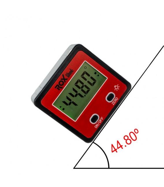 Rox Wood 0095 Dijital Mıknatıslı Açı Ölçer