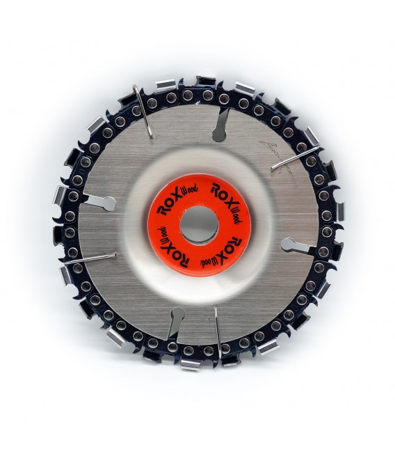 Rox Wood 1154 Wood Carving Disc Ahşap İşleme Diski 102 mm 22 Diş