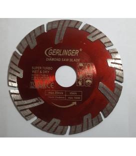 Gerlinger 115 mm. Süper Turbo Granit Mermer Kesme Testeresi