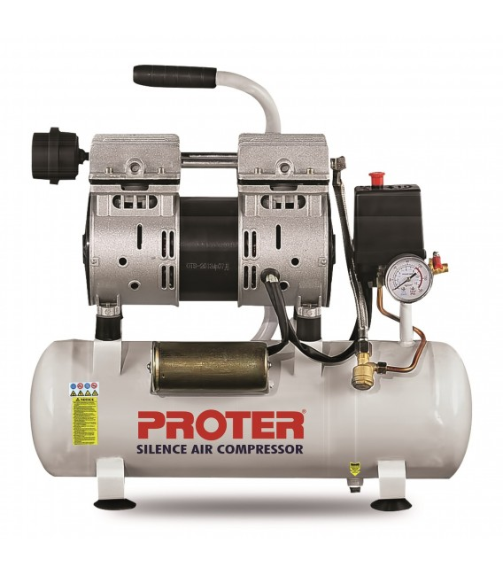 Proter 9 lt. Yağsız-Sessiz Hava Kompresörü