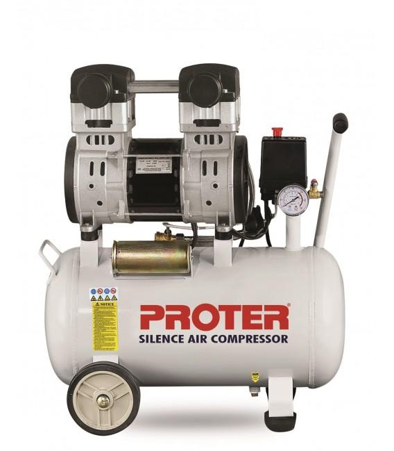 Proter 24 lt. Yağsız-Sessiz Hava Kompresörü