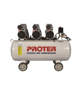 Proter 200 lt. 3 Kafa Yağsız-Sessiz Hava Kompresörü