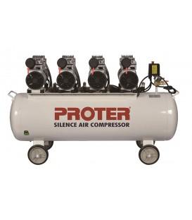 Proter 200 lt. 4 Kafa Yağsız-Sessiz Hava Kompresörü 380 Volt