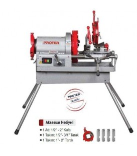 PR 4004 4'' Tezgah Tip Pafta Makinesi