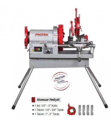 PR 3003 4'' Tezgah Tip Pafta Makinesi